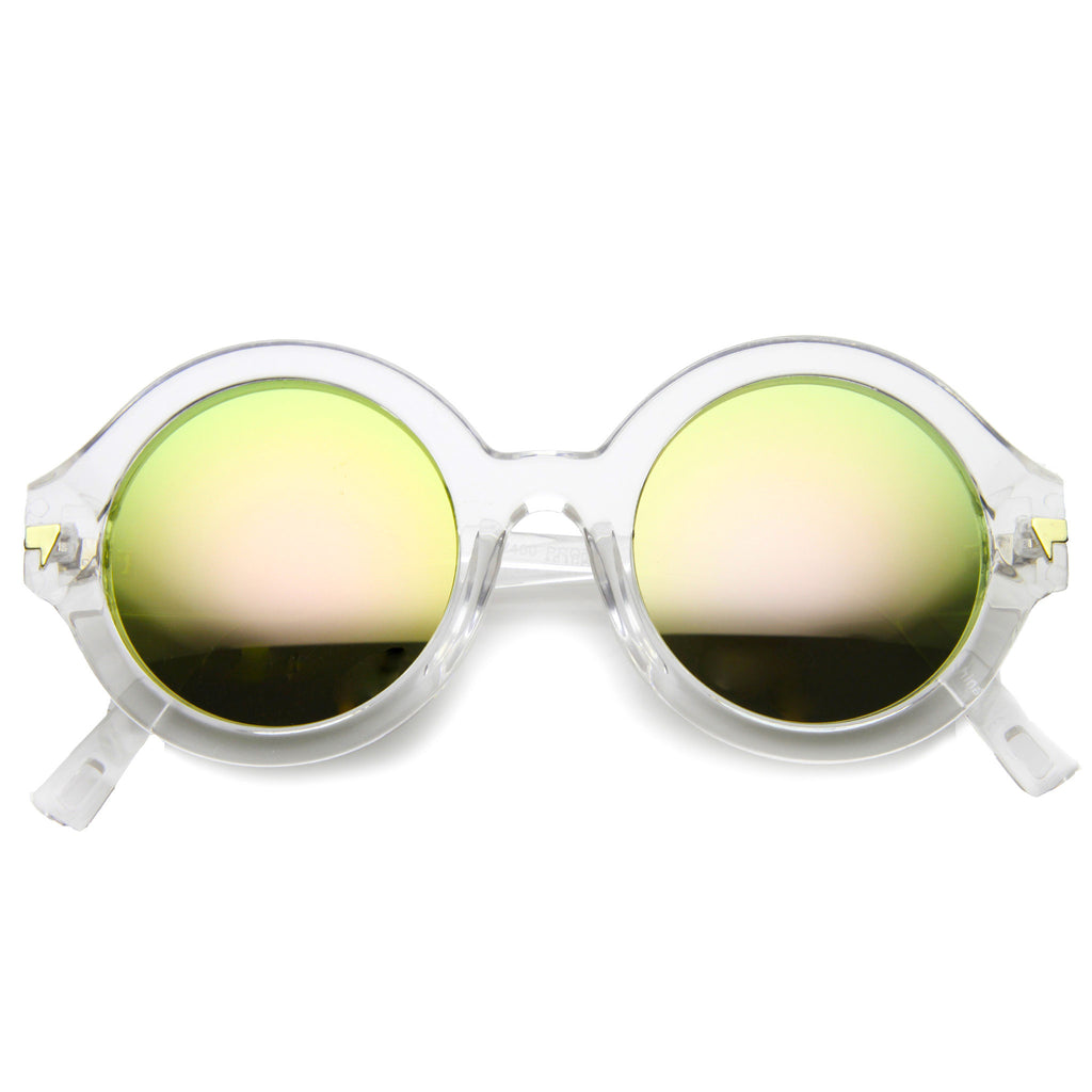 OH YEAH! Round Revo Sunglasses in Clear Pink at FLYJANE | Cute Revo Sunglasses under $20 at FLYJANE | Clear Pink Sunnies | Revo Sunnies | Revo Sunglasses