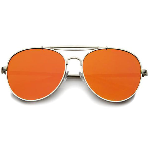 GET DAZED MIRROR LENS SUNGLASSES