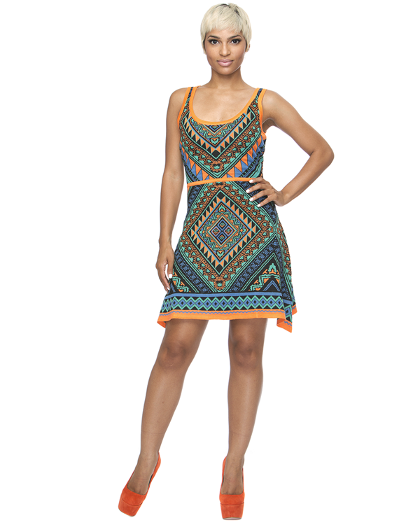 LUCCA Knit Shift Dress at FLYJANE