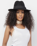 BESSER Wool Fedora Hat in Black at FLYJANE | Fedora Hat | Cute Fedora Hats under $50 | Stylish Accessories Hat for Spring 2017 | Black Wool Fedoras