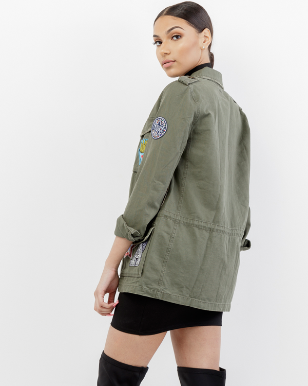 SAY IT LOUD MILITARY JACKET