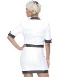 CAMEO Dress in White at FLYJANE