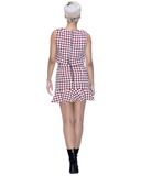 HOUNDS GOOD Houndstooth Skirt Set at FLYJANE