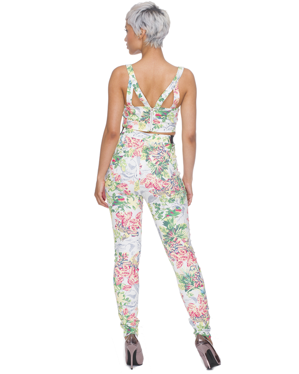 DREAM IN COLOR Denim Pant  Set at FLYJANE