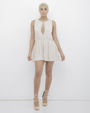 ZOE Play Romper in Nude at FLYJANE | Nude Flowy Romper | Cute Rompers for Spring 2016 | Cute Summer Clothes | Follow us on Instagram at @FlyJane