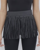 ROUND AND AROUND Tassel Belt in Black at FLYJANE | Black Tassel Belt | Kylie Jenner Tassel Belt | Cute Contemporary Accessories under $50 at FLYJANE