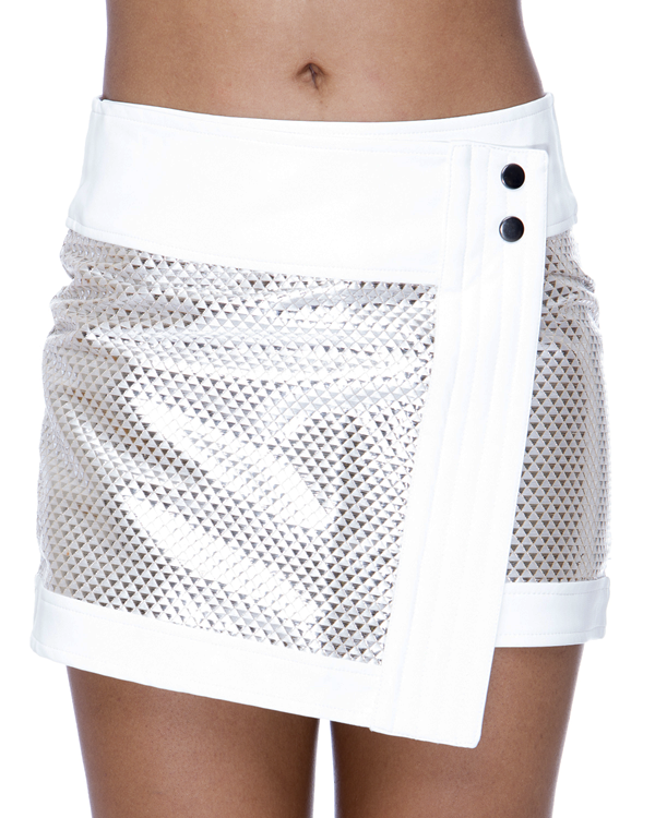 REFLECT ON IT Wrap Skirt by Endless Rose at FLYJANE