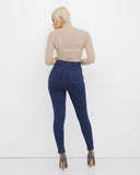 TRAP QUEEN Skinny Jeans at FLYJANE | Stretch High Waist Skinny Jeans | Treggings  | High Waist Denim Jeans under $100 | Follow us on Instagram at @FlyJane