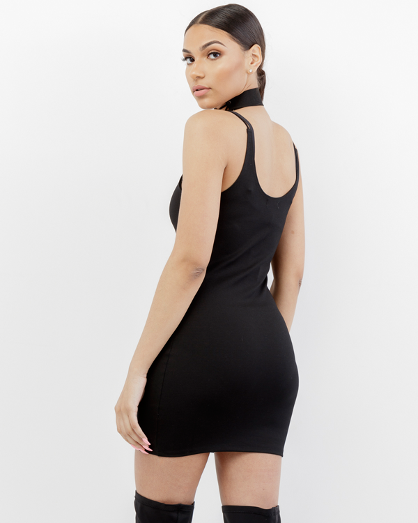 THE BAE MINI DRESS - BLACK