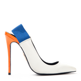 Lust for Life KOLOR Pump in White (PRE-ORDER) at FLYJANE