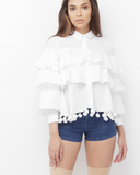 THE BEAUTIFUL RUFFLE BLOUSE