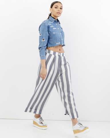 ELLIO PLEATED CULOTTES