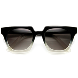 Fade to Black Square Frame Sunglasses available NOW at FLYJANE