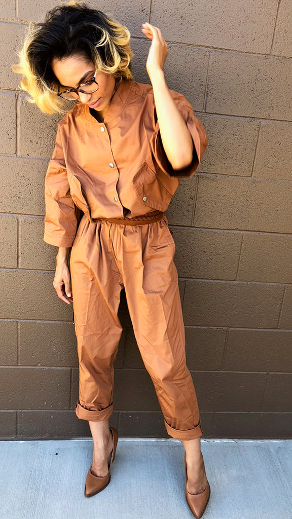 KHORA OVERSIZED JUMPSUIT