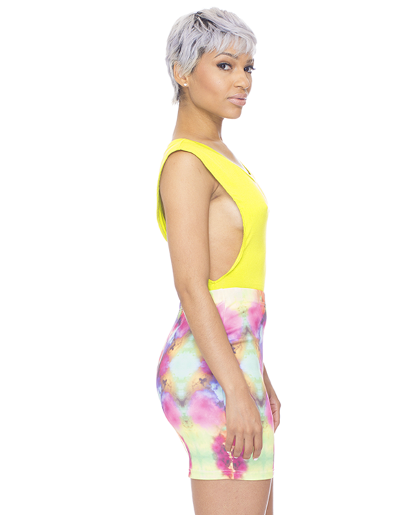 DO OR TIE DYE Body Con Skirt