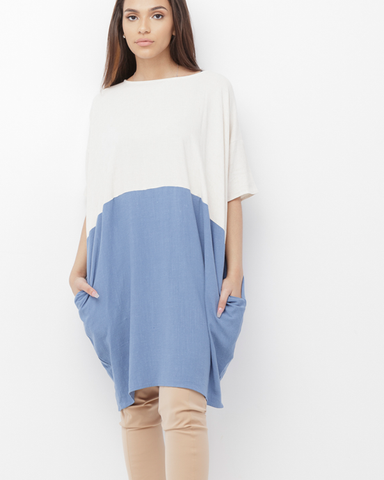 RILEY OVERSIZED TUNIC DRESS