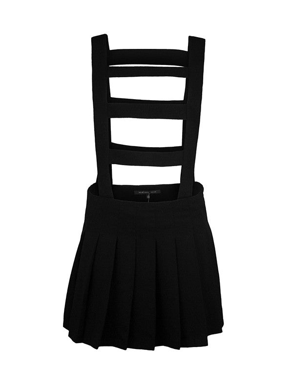 Endless Rose THE LADDERS Caged Skirt in Black at FLYJANE
