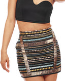 Scene Stealer Beaded Skirt at FLYJANE