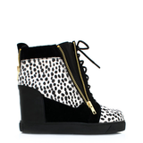 Shoe Republic LA ZOO Sneaker Wedge at ShopFlyJane.com