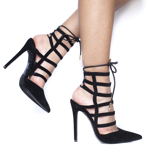ABBEY PUMP - BLACK