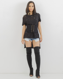 KIMORA CORSET LACE UP BELT