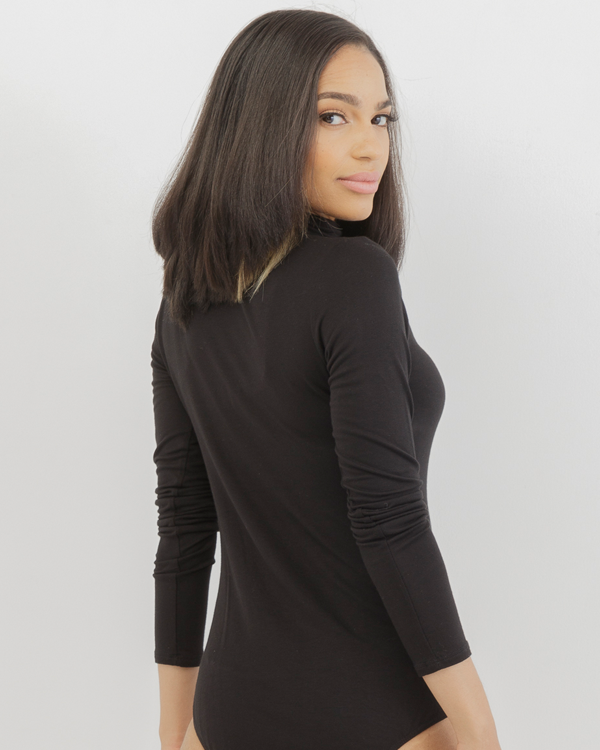 CHARLENE MOCK NECK BODYSUIT