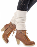 CAMILA Ankle Boots in Brown | FLYJANE | Cute Low Heel Rubber Sole Mountain Boots for Women | Fashionable Granny Boots | Cute Granola Boots for Women at ShopFlyJane.com