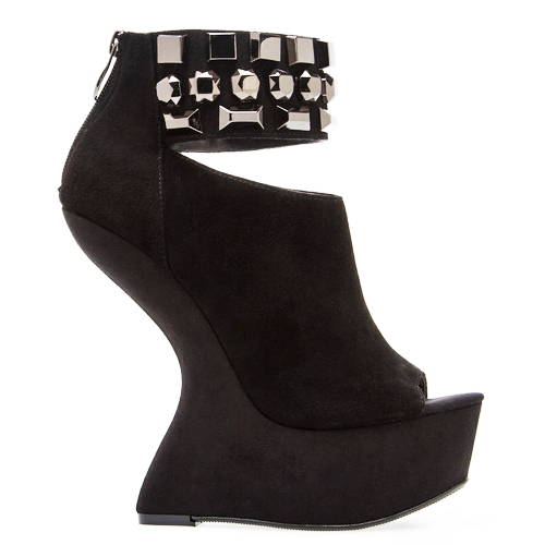 Chinese Laundry CAN CAN Heelless Platform in Black at ShopFlyJane.com