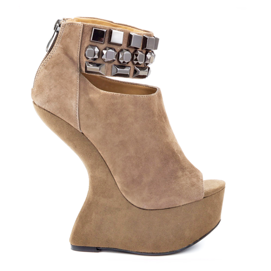 CHINESE LAUNDRY CAN CAN BOOTIE IN TAUPE