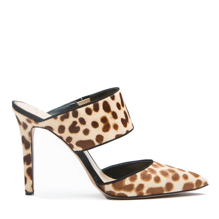 JESSICA SIMPSON CHANDRA MULE - CHEETAH PONY