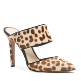 Jessica Simpson CHANDRA Mule in Cheetah Pony Hair at FLYJANE