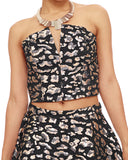 Get the Thunder Cat Leopard Brocade Bustier NOW at FLYJANE