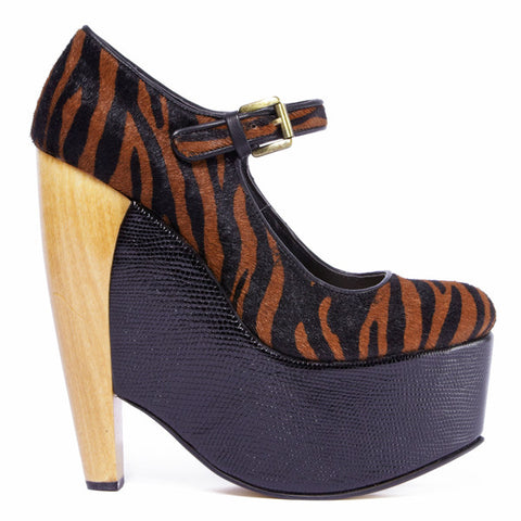 DV8 by Dolce Vita Dalice Pump by Tiger Print at shopFLYJANE.com