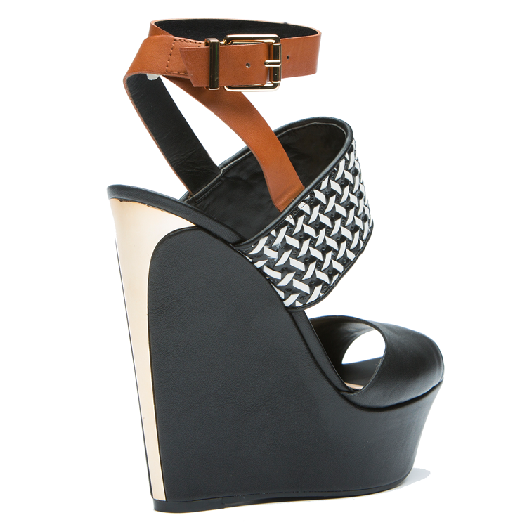 Jessica Simpson EILA Wedge in Black at FLYJANE