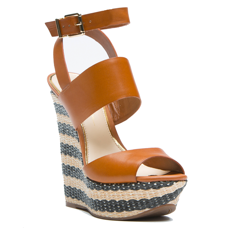 Jessica Simpson EILA Wedge in Brown at FLYJANE