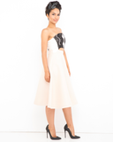 THE BEAUTIFUL ONES Asymmetrical Dress at FLYJANE | A-Line Dress | Wedding Dress | Lace Dress