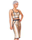 GOLD DUST MIDI SET AT FLYJANE