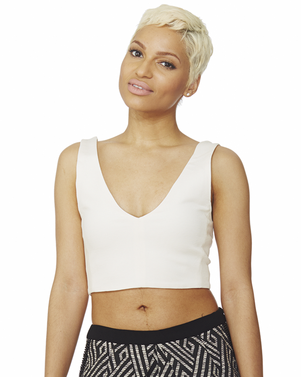 FELICITY Crop Top at FLYJANE