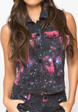 Galactic Cutoff Vests at FLYJANE