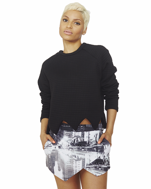 Skyline Skort at  FLYJANE