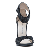 CHINESE LAUNDRY JOVIAL JEWELED SANDAL - BLACK