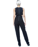 STEP ASIDE Cutout Jumpsuit at FLYJANE