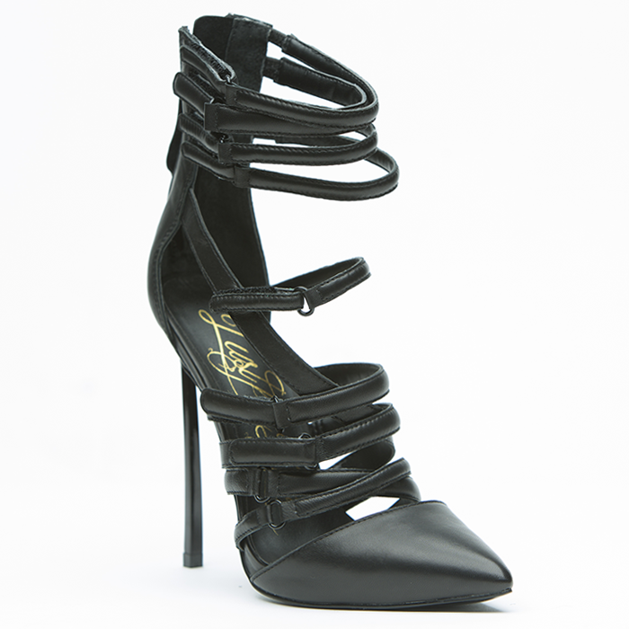 Lust for Life KROWN Pump in Black at FLYJANE