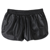 After Party Dolphin Vegan Leather Shorts at FLYJANE
