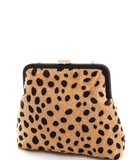 LEOPARD ACCENT Statement Clutch Purse at FLYJANE | Cute Small Clutch Bag with a Statement are Trending this Season | Leopard Print is classic print | Animal Prints are in for Fall at ShopFlyJane.com