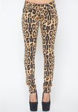 Tripp NYC Leopard Stretch Jeans at FLYJANE