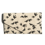 LET THEM EAT CROW CLUTCH BAG