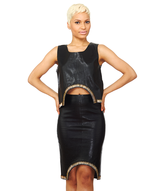 UNRULY CONSCIOUS Midi Skirt Set at FLYJANE