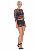 SECRET LOVER Lace Shorts at FLYJANE