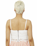 Sweet Rendezous Lace Bustier in Ivory at FLYJANE